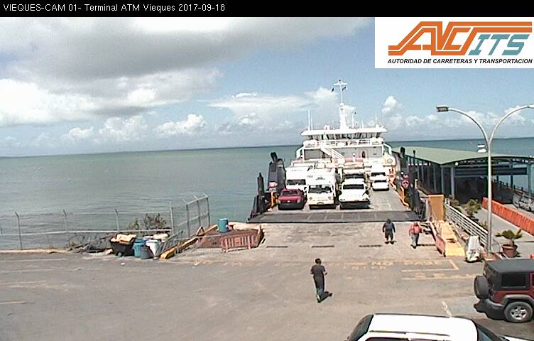 Live Ferry Dock Cam on Vieques, PR